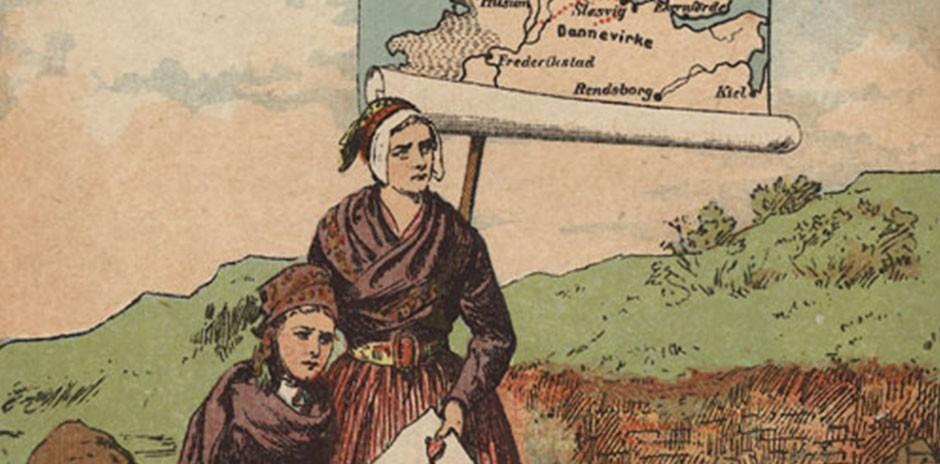 grænsen til tyskland ved sønderjylland