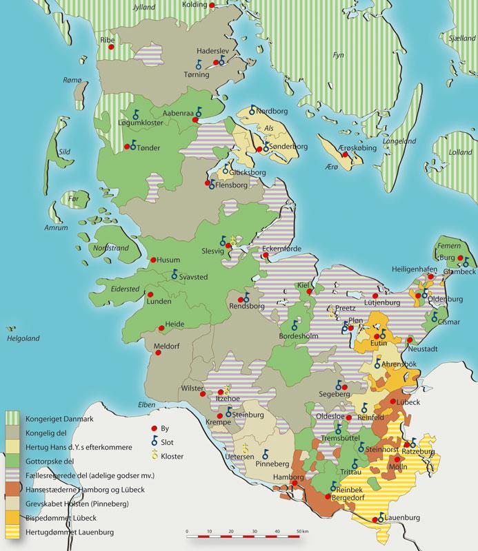 Delingen Af Slesvig Og Holsten Den Sonderjyske Historiekanon